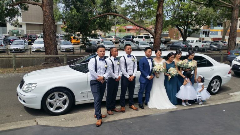 Hsa and Lillies wedding Limousine Hire